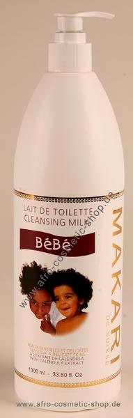Makari BèBè Cleansing Milk  Lait de toilette 1000 ml -afrocosmeti 8100d9f399f