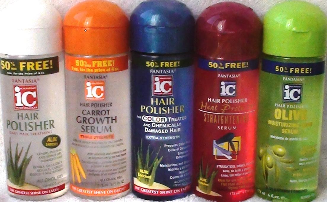 Fantasia ic hair polisher heat protector straightening serum a fantasia ic hair polisher heat protector straightening serum 6 oz sciox Images