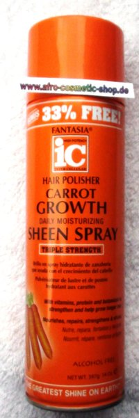 Fantasia® IC Carrot Growth Sheen Spray 14 oz