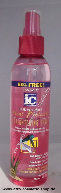 Fantasia IC Hair Polisher Heat Protector Straightening Spray