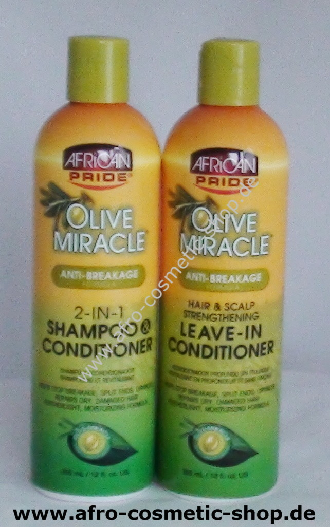 african pride olive miracle 2 in 1 shampoo conditioner 440 a. Black Bedroom Furniture Sets. Home Design Ideas