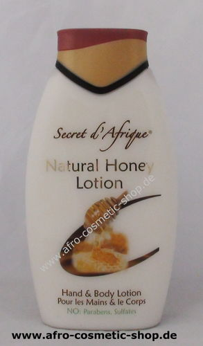 Secret d' Afrique Natural Honey  500 ml