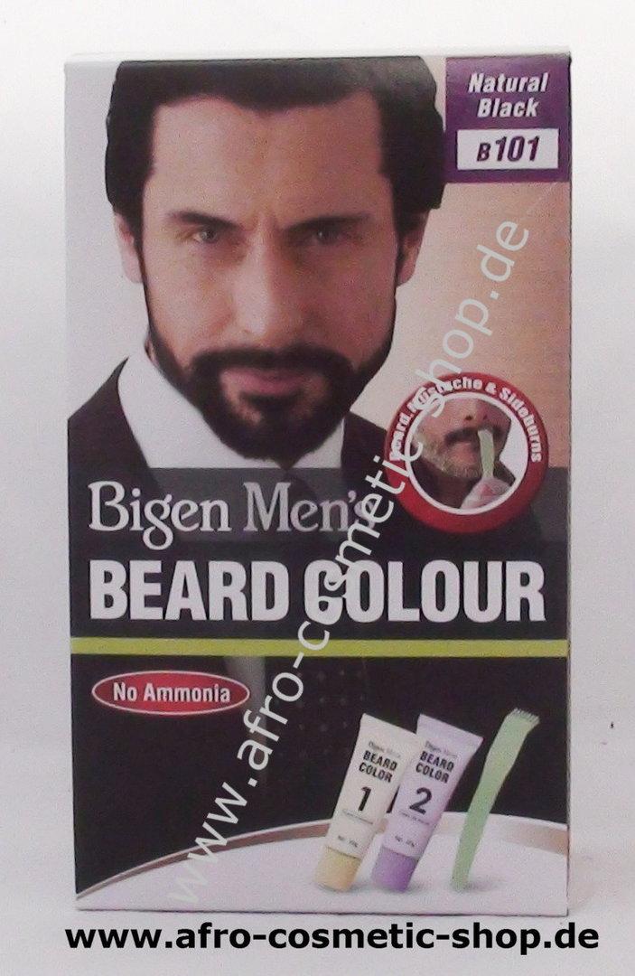 Bigen B101 Men\'s Beard Colour Natural Black