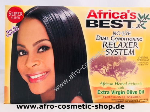 Africa's Best Relaxer Kit Super