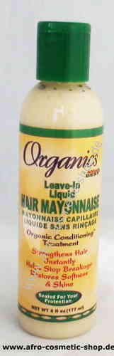 Africa's Best Organics Leave-In Liquid Hair Mayonnaise 6 oz