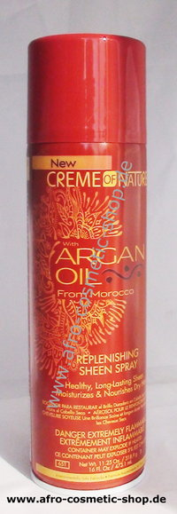 Creme Of Nature Argan Oil Replenshing Sheen Spray