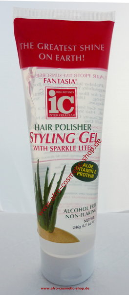 ic hair polisher styling gel fantasia ic hair polisher styling gel with sparkle lites 8376