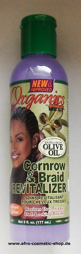 Africa's Best® Organics Cornrow & Braid Revitalizer 6 oz