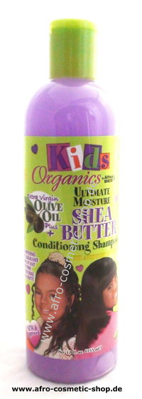 Africa's Best Kids Shea Butter Shampoo 12 oz