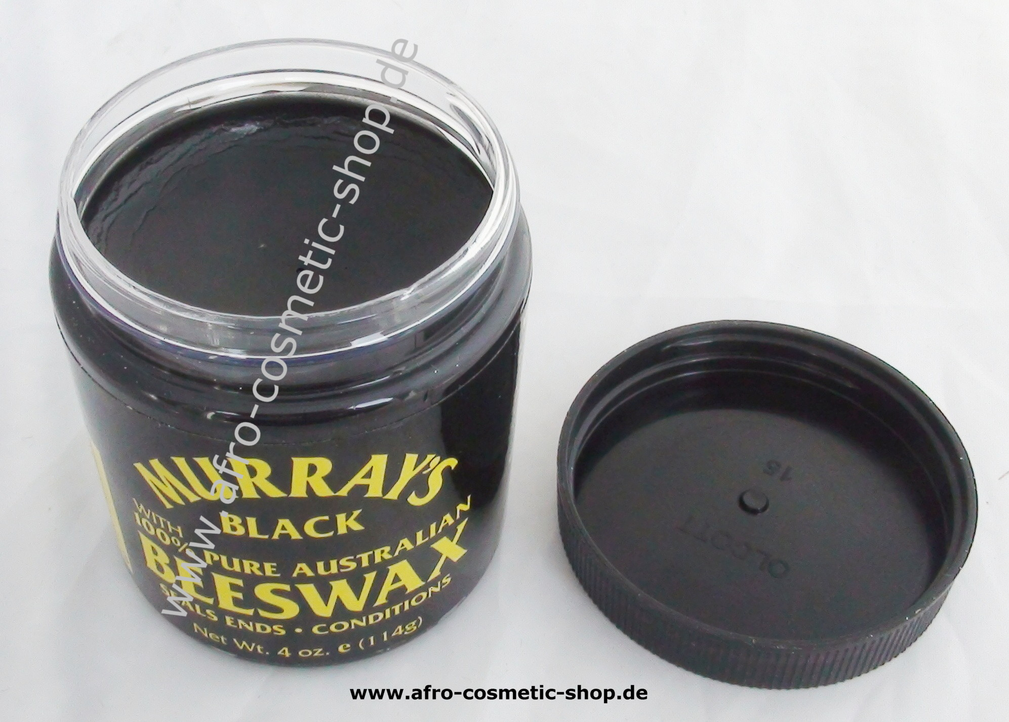 Murrays Black Beeswax 4 Oz Afro Cosmetic Shop Pomade