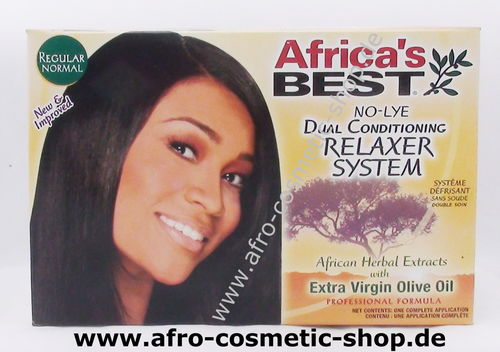 Africa's Best Relaxer Kit Regular