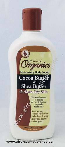 Africa's Best Cocoa Butter & Shea Butter Lotion 12 oz