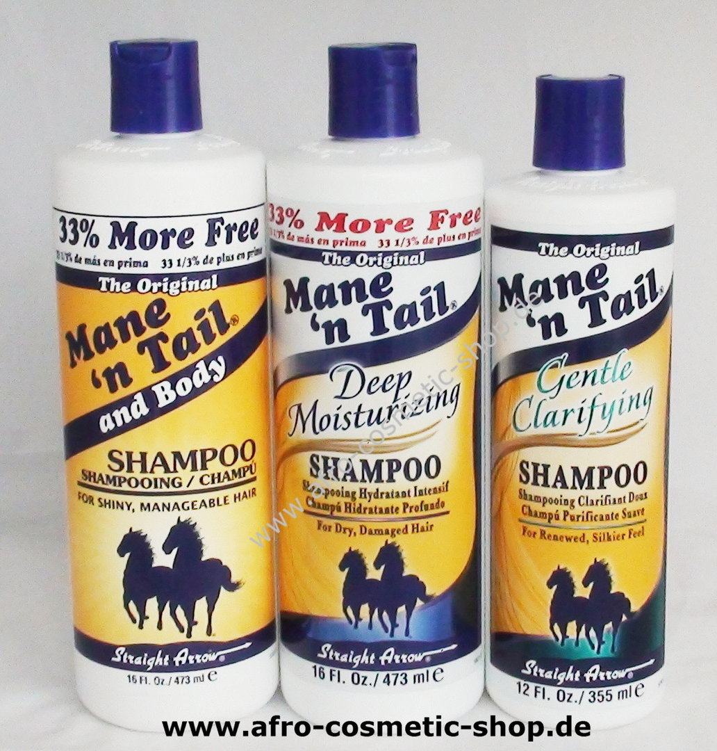 Mane 'n Tail and Body Shampoo 12 oz- Afro Cosmetic Shop