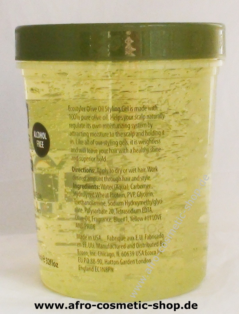 Eco Styler Olive Oil Styling Gel 32 Oz Afro Cosmetic Shop