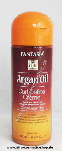 Fantasia IC Argan Oil Curl Define Creme