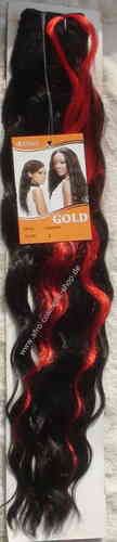 Carolina Synthetic Hair Farbe 2/Rot