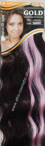 Carolina Synthetic Hair Farbe  T1B/350/rosa