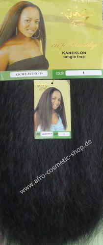 "KK Weaving 16"" Synthetic Hair Farbe 1"