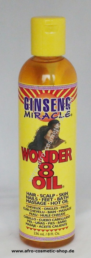 Ginseng Miracle Wonder 8 Oil - Afro Cosmetic Shop