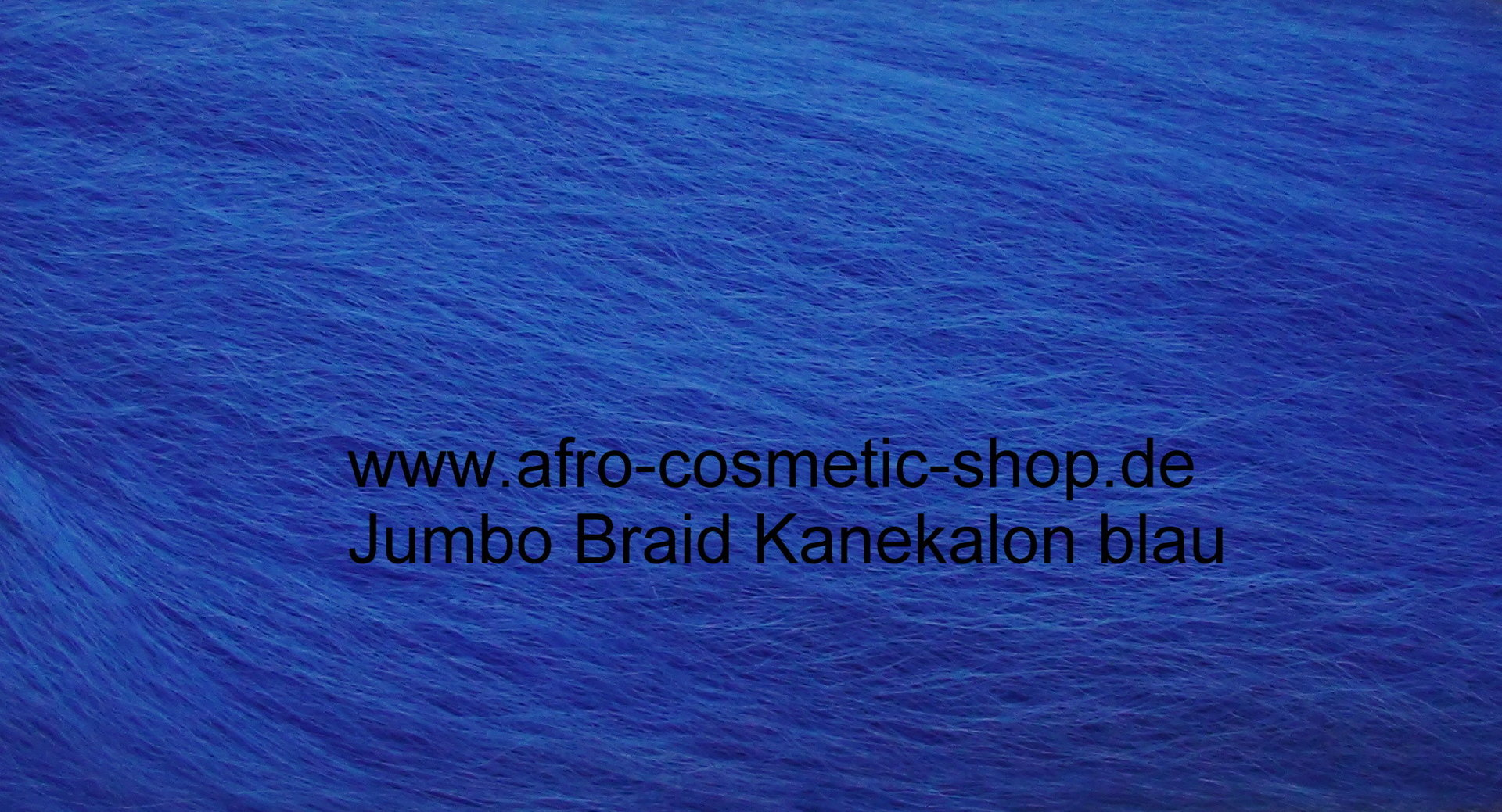 jumbo braid kanekalon farbe blau afro cosmetic shop. Black Bedroom Furniture Sets. Home Design Ideas