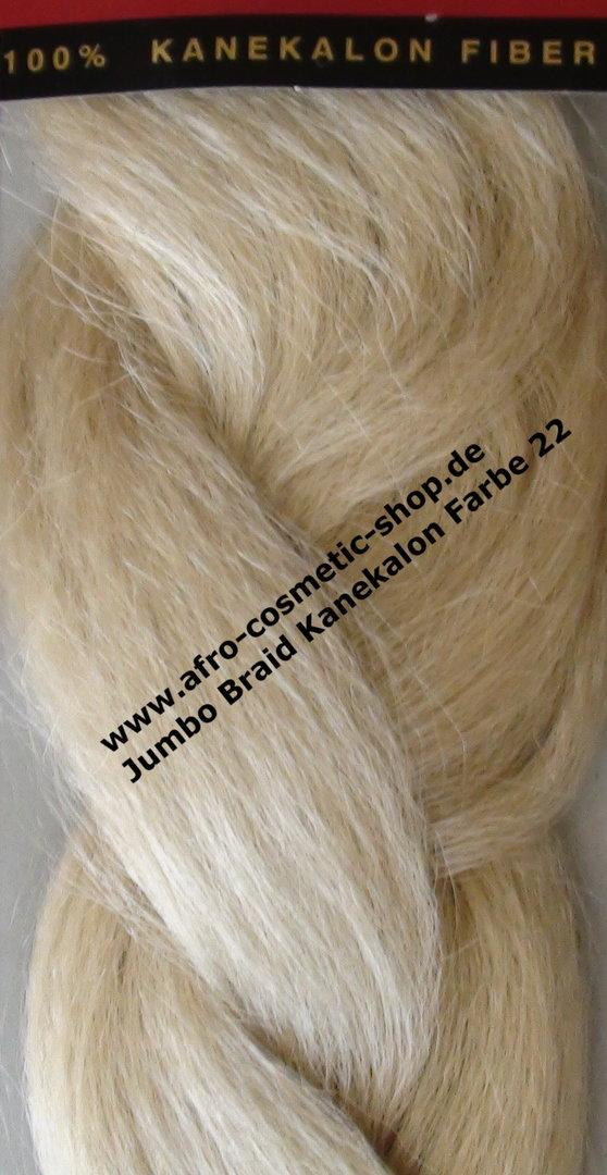 Jumbo Braid Kanekalon Color 22 Afro Cosmetic Shop