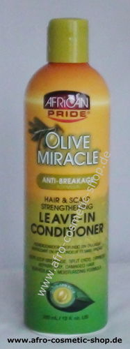 African Pride Olive Miracle Leave-In Conditioner  (441)
