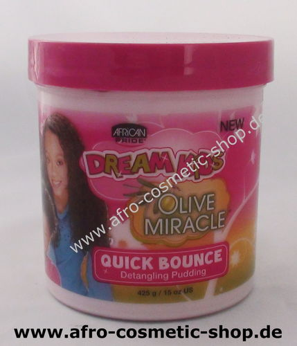 African Pride Dream Kids Olive Miracle Quick Bounce