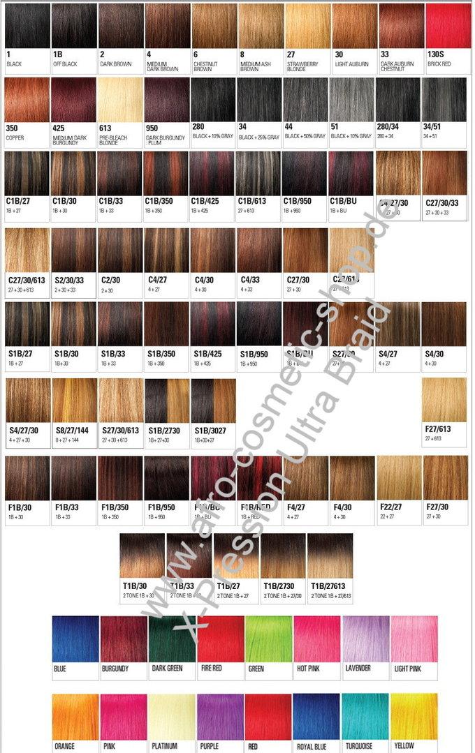 X Pression Ultra Braid Color 12