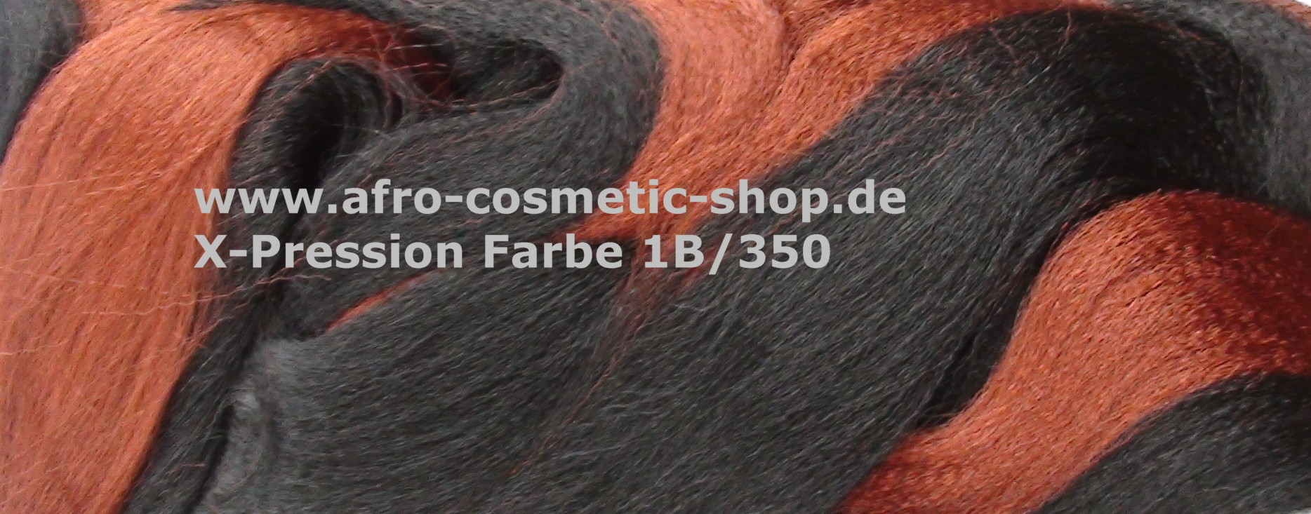 X Pression Ultra Braid Color 1b350 Afro Cosmetic Shop