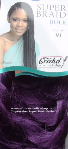 Impression Super Braid Farbe Violet