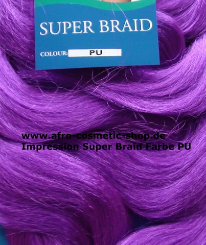 Impression Super Braid Farbe Purple