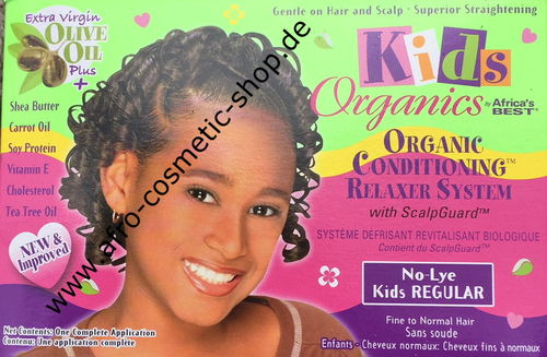 Africa's Best Organics No-Lye Kids Relaxer Kit Regular