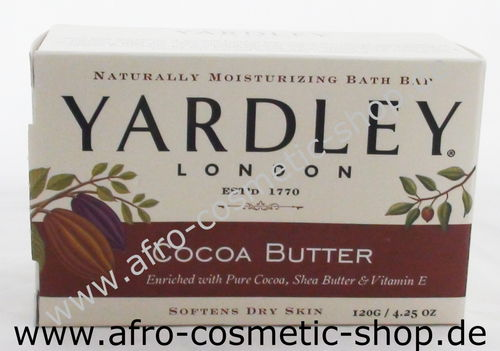Yardley Cocoa Butter Soap